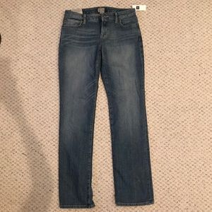 Gap Curvy Straight Medium Wash Jeans